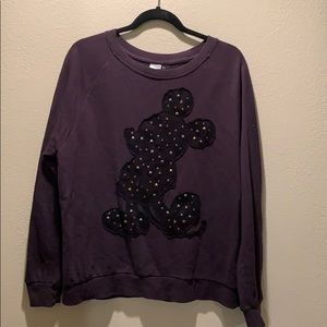 Forever 21 Mickey Mouse thin sweatshirt. Large.